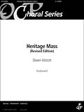 Heritage Mass [Keyboard/Unison Accompaniment]