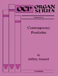 Contemporary Postludes [Solo Instrument Songbook]