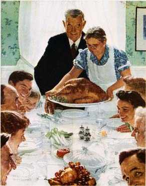 Rockwell's Thanksgiving